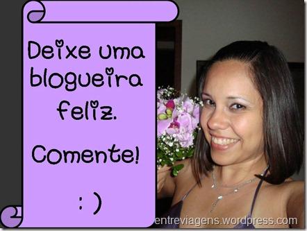 Deixe uma blogueira feliz