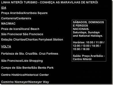 Linha Niterói Turismo