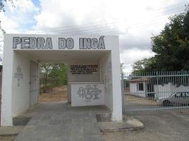 Entrada do sítio arqueológico Pedra do Ingá.