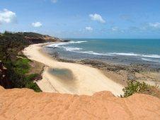 Chapadão com vista para a praia dos Amores.