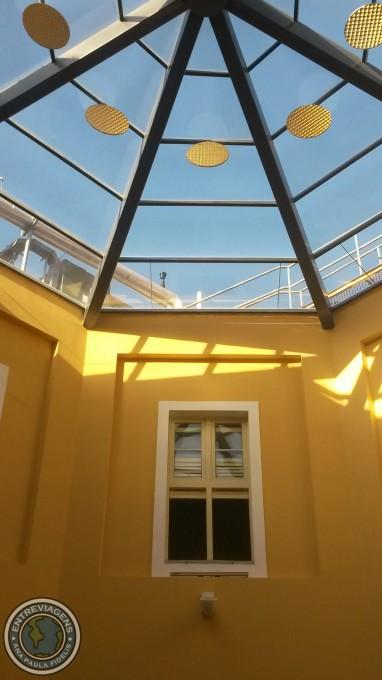 Dentro do Caixa Cultural Recife