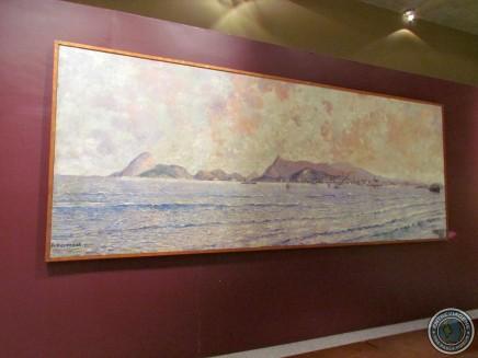 Quadro de Antônio Parreiras, pintor niteroiense.