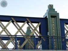 Detalhe da ponte.