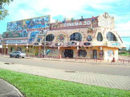 Único cinema de Boa Vista, RR.