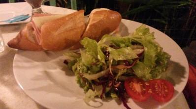 Sanduíche do Café da Santa.